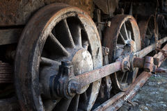 A rusty wheels Royalty Free Stock Photos