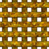 Rusty window bars Royalty Free Stock Image