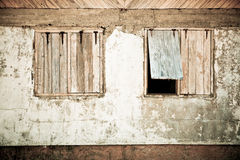 Rusty Windows. Textural shot of two old, rusty windows Stock Images