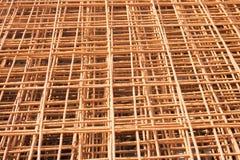 Rusty Wire-Hintergrund Lizenzfreies Stockbild