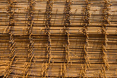 Rusty wire mesh Royalty Free Stock Photography