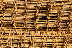 Rusty wire mesh Royalty Free Stock Photo