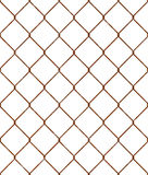 Rusty wire mesh seamless pattern Stock Images