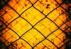 Rusty Wire Netting imagem de stock