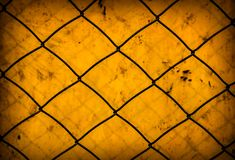 Rusty Wire Netting fotos de stock royalty free