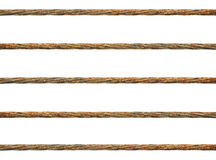 Rusty Wire Rope Royalty Free Stock Photos