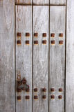 Rusty wooden door Stock Photography