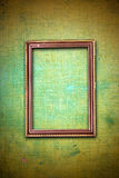 Rusty wooden frame on abstract background Stock Photo