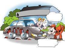 Rusty Worn Car Royalty Free Stock Image