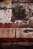 Rusty worn and scratched metallic background Royalty Free Stock Photography