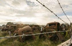 Rusty Wrecks Royalty Free Stock Photos