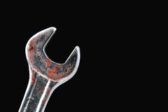 Rusty Wrench Royalty Free Stock Photography
