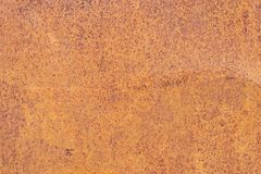 Free Rusty Yellow-red Textured Metal Surface. The Texture Of The Metal Sheet Is Prone To Oxidation And Corrosion. Grunge Stock Photos - 109496483