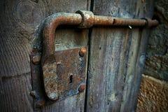rusty zamka Zdjęcie Royalty Free