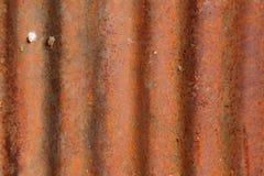 Rusty Zinc-achtergrond Royalty-vrije Stock Afbeeldingen