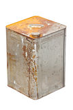 Rusty Zinc Container. Stock Photos