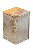 Rusty Zinc Container. Stock Photos