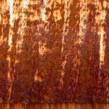 Rusty Zinc grunge Royalty Free Stock Images