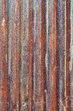 Rusty zinc metal plate Royalty Free Stock Image
