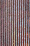 Rusty Zinc Metal Plate Royalty Free Stock Images