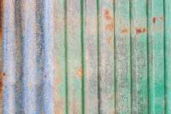 Rusty zinc sheet Stock Images
