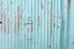 Rusty zinc sheet Stock Photo