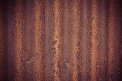 Rusty zinc Royalty Free Stock Photos