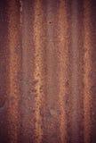 Rusty zinc Stock Photography