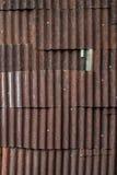 Rusty zinc texture background stock photography