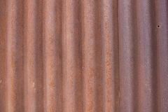Rusty zinc texture for background. royalty free stock photos