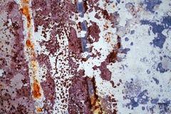 Rusty zinc textured Stock Image