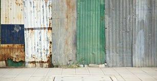 Rusty zinc Royalty Free Stock Photo