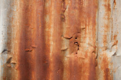 Rusty zync Stock Image