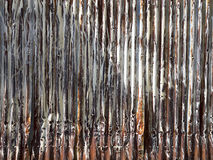 Rusty zync,. Texture of rusty and erode galvanized iron Royalty Free Stock Photo