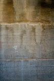 RustyTexture of Garage Door Royalty Free Stock Photo