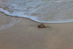 Ruszać się kipiel w morzu Fotografia Stock
