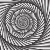 Ruszać się po spirali tło Ilustracja Wektor