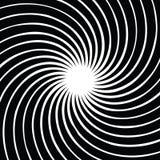 Ruszać się po spirali tło również zwrócić corel ilustracji wektora Kurenda, promieniuje abstrakcjonistycznego kształta wzór ilustracja wektor