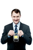 Ruszamy się handlu elektronicznego biznes zdjęcia royalty free