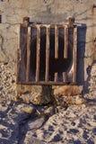 rusztowy runoff Zdjęcia Royalty Free