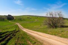 Rut roads royalty free stock photos