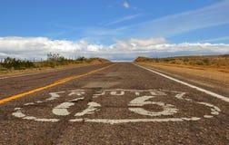 Ruta 66 imagen de archivo libre de regalías