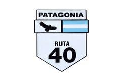 Ruta 40 in Argentina Fotografie Stock Libere da Diritti