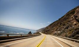 Ruta 1, California Imagenes de archivo