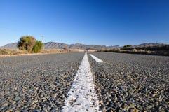 Ruta 62 cerca de Oudtshoorn - Suráfrica Fotos de archivo libres de regalías