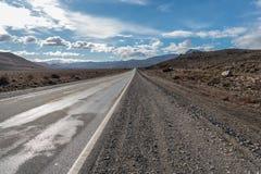 Ruta 40 dans la province de Neuquen, Argentine Image libre de droits