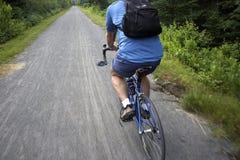 Ruta de la bicicleta Fotografía de archivo libre de regalías