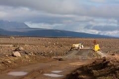Ruta de la montaña de Kjölur Imágenes de archivo libres de regalías