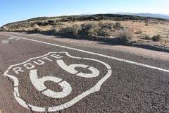 Ruta 66 de los E.E.U.U. Foto de archivo