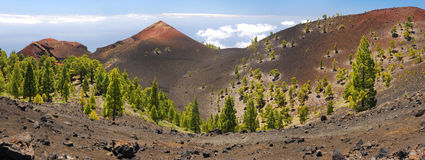Ruta de los Volcanes, La Palma Royalty Free Stock Photography